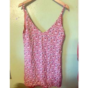 Pink Floral Forever 21 dress